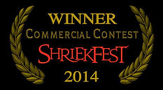 Winner Commercial Contest Shriekfest 2014 Laurel