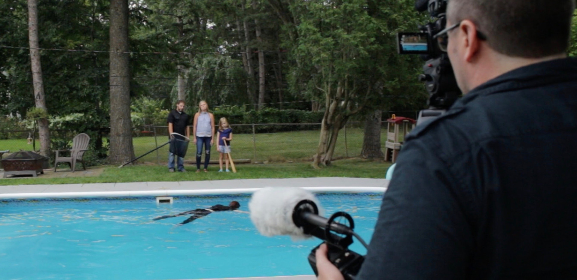 Behind the scenes The Sitter