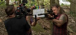 Behind the Scenes Photo Guns of Eden Film