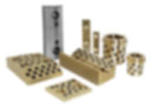 OIL FREE SLIDE PLATE/ LOOSE CORES/ GUIDE RAIL