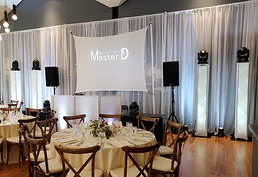 DJ Master D et DJ Wonder, animation mariage Salle la Tundra, Parc Jean-Drapeau, Montréal