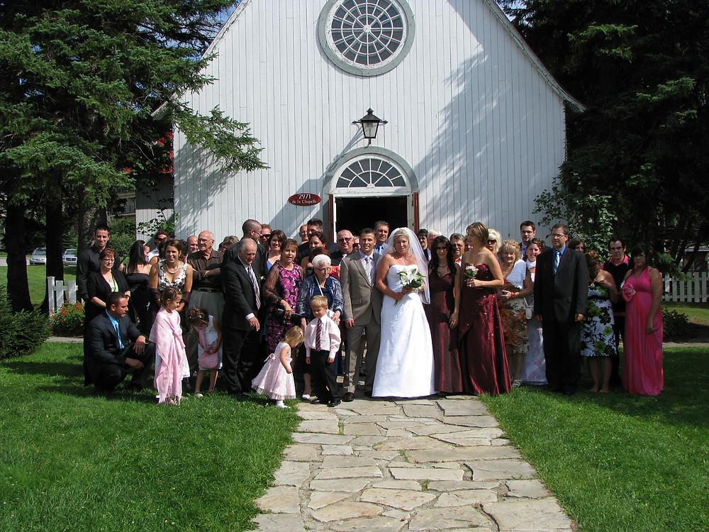 Mariage Mindy et Dominic