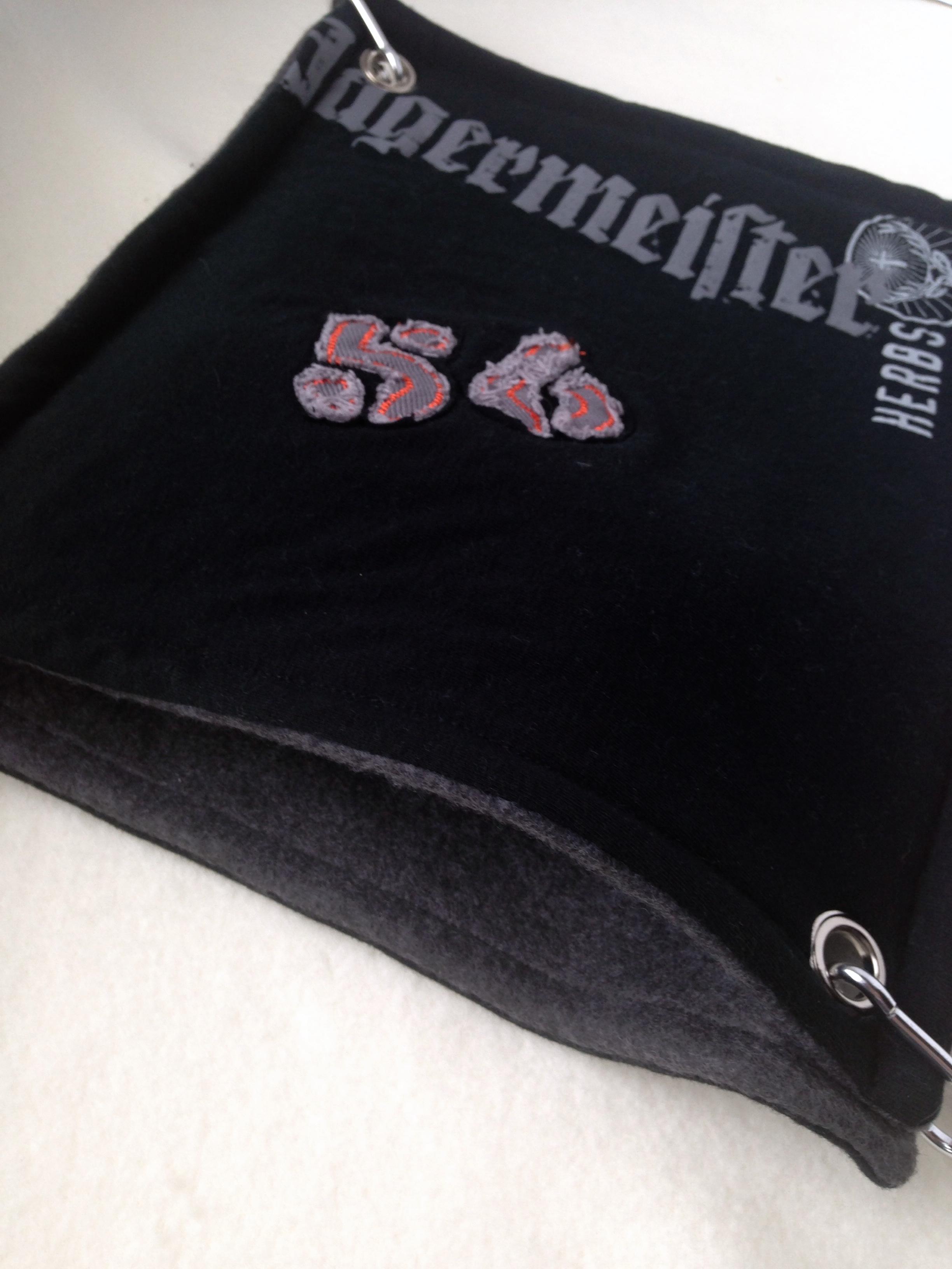 Upcycled Material Pocket Hammock