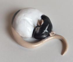 Polymer Clay Rat