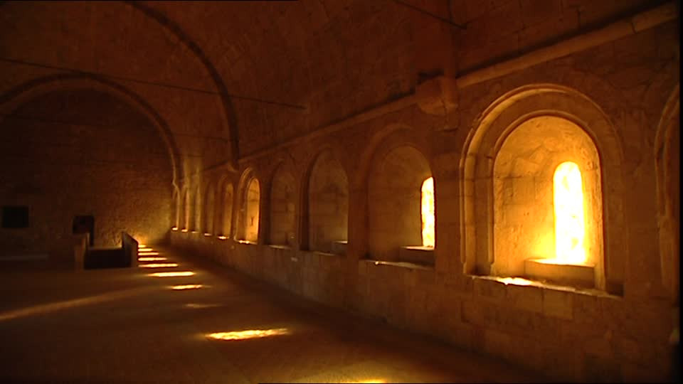 Couloirs abbaye