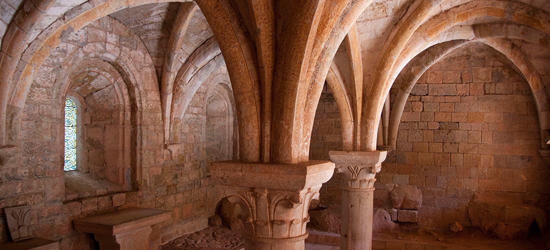 Abbaye du Thoronet Colonnes
