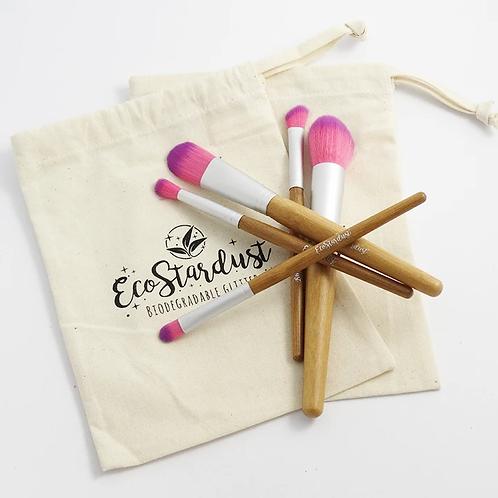 EcoStardust Bamboo Glitter Brush Set
