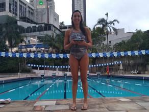 Beatriz Nantes: uma atleta da natação que carrega o TCP no peito