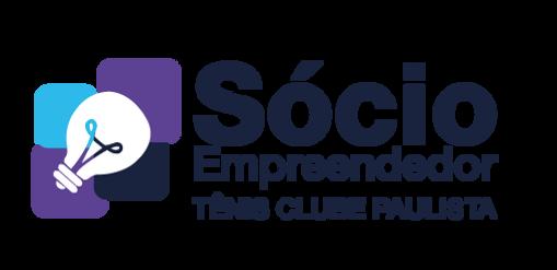 Logotipo do Sócio Empreendedor do Tênis Clube Paulista