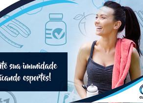 Quer melhorar a imunidade? Então pratique esportes!