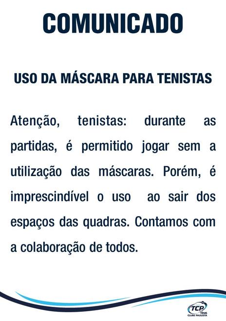 Comunicado_-_Uso_de_máscara_pelos_tenis