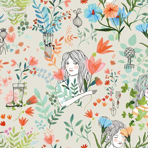 POPELÍN GARDEN FLOWERS