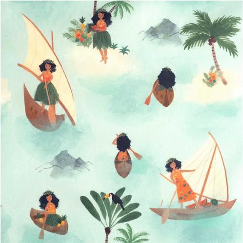 WATERPROOF POLYNESIAN