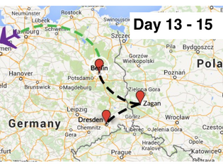 Day 13 - The Great Escape in Zagan, Poland