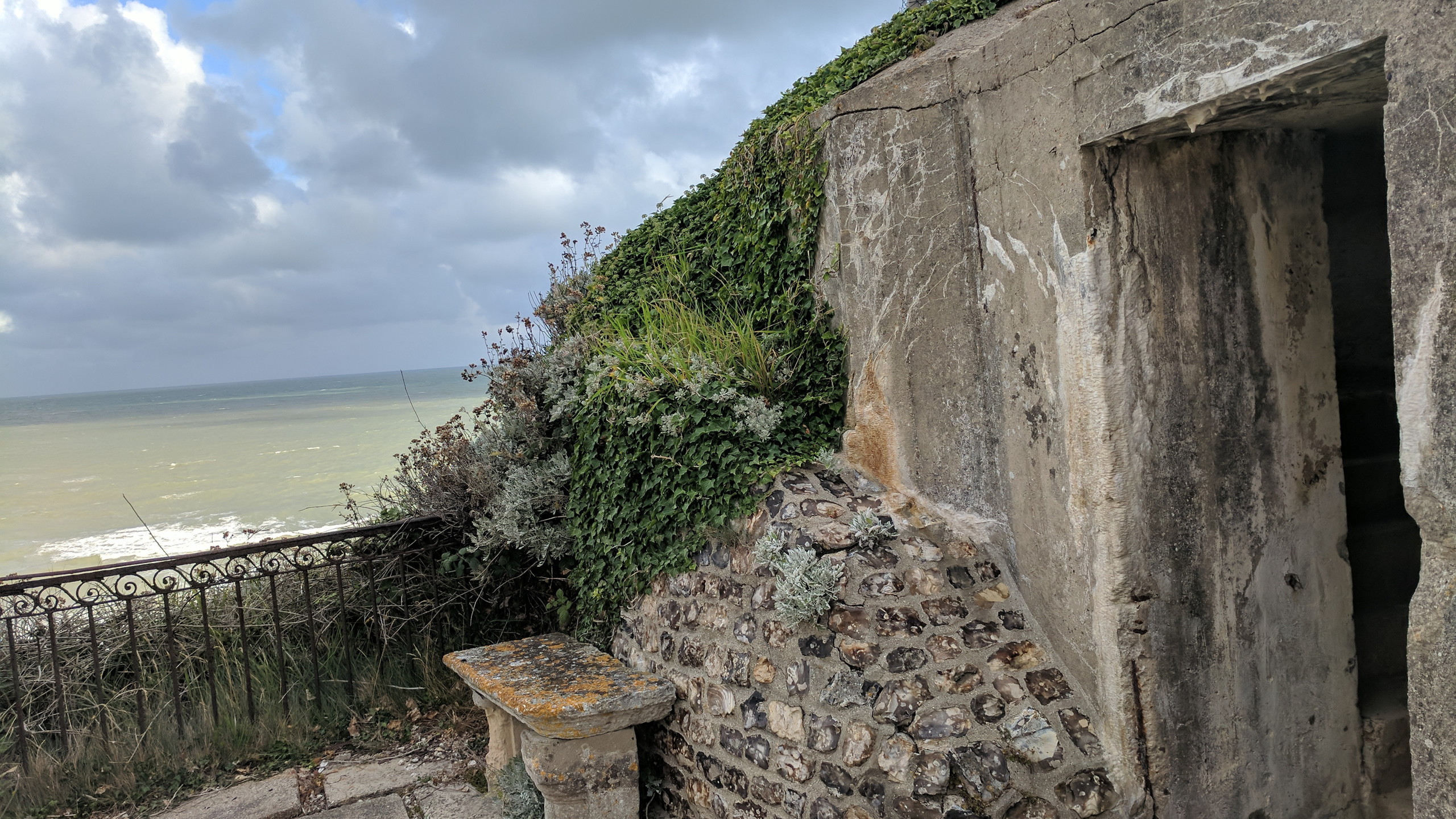 """""""Well, it's not going anywhere - so it's now the garden shed."""" - This summer, the wonderful Bonnet family showed us around their formidable, and fascinating home along the coast in Puys, France."""