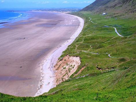 Rhossili Gower Peninsula Wales
