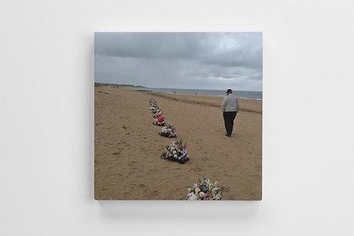 """Juno Beach, remembering 75 Years 12"""" X 12"""""""