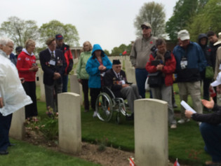 Day 3: Commemoration Services at the Canadian Military Cemetery of Groesbeek