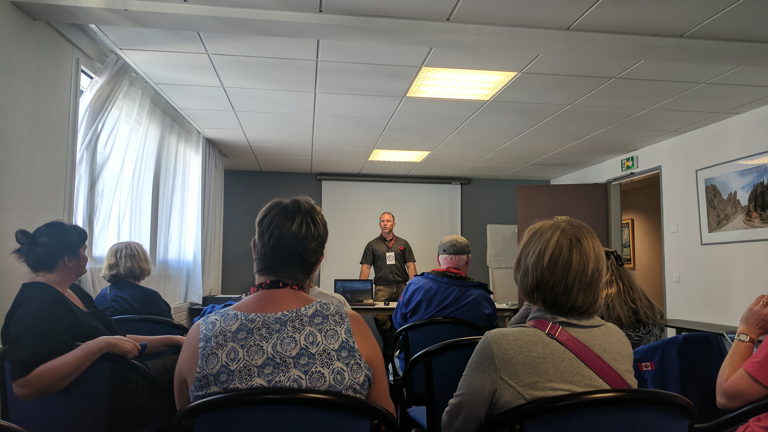 The Dieppe 75, Every Man Remembered Tour, in August 2017, came with many highlights - a favourite of mine was Mark's info session  - sharing his insight & resources on researching family ties to Canadian military history.