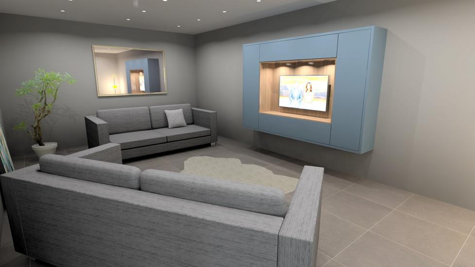 TV Area - Cubic 1