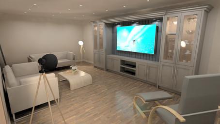 TV Area - Frame Effect 1
