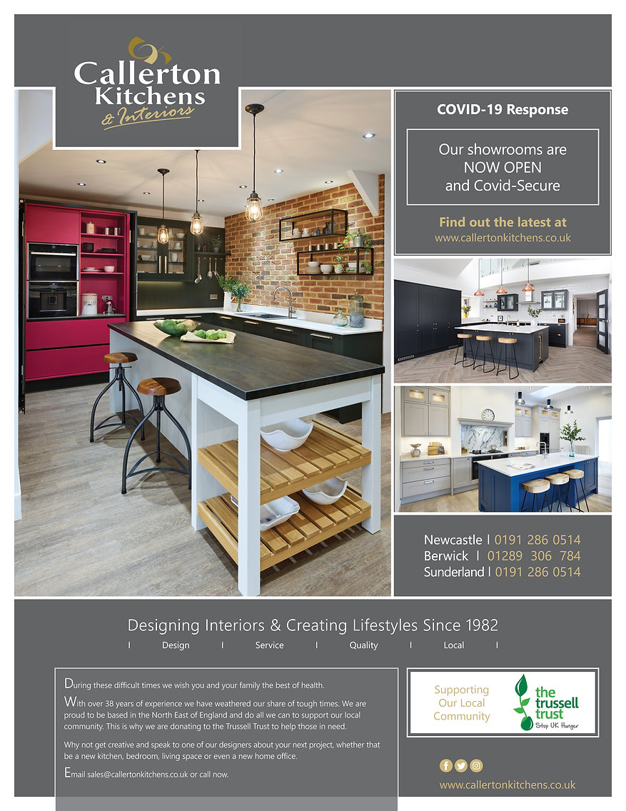 Print Advert Living North Callerton Kitc