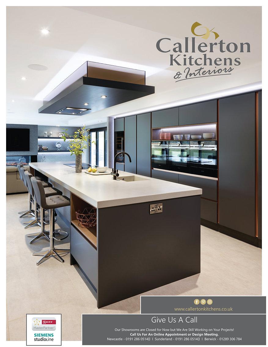 Print Advert Living North Callerton Kitc