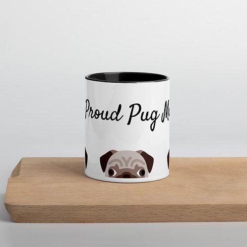 One Proud Pug Mama mug