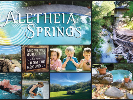 Aletheia Springs :: Fall Update & 2019 Support-Raiser Campaign Launch!