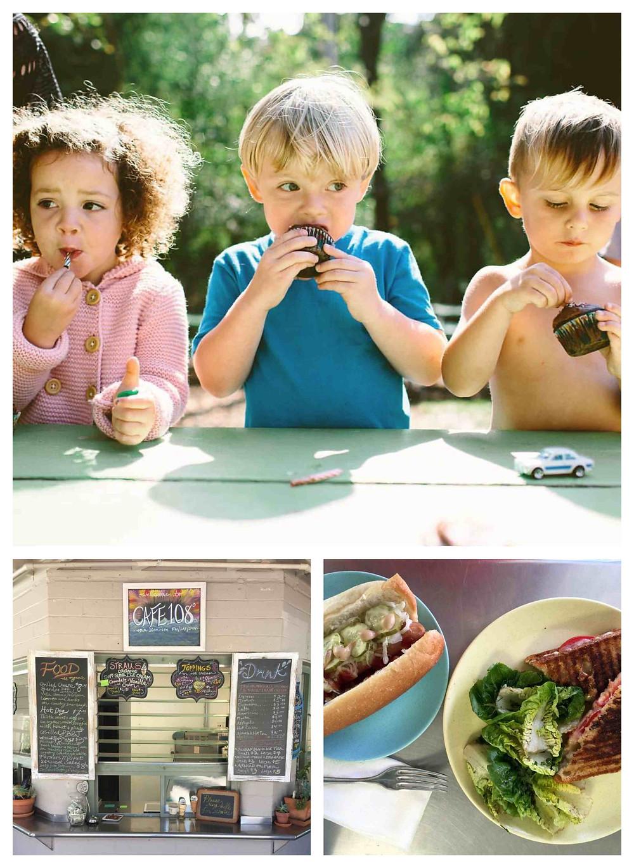Service in the Cafe & Children's spheres (photo credit Sarah Deragon)
