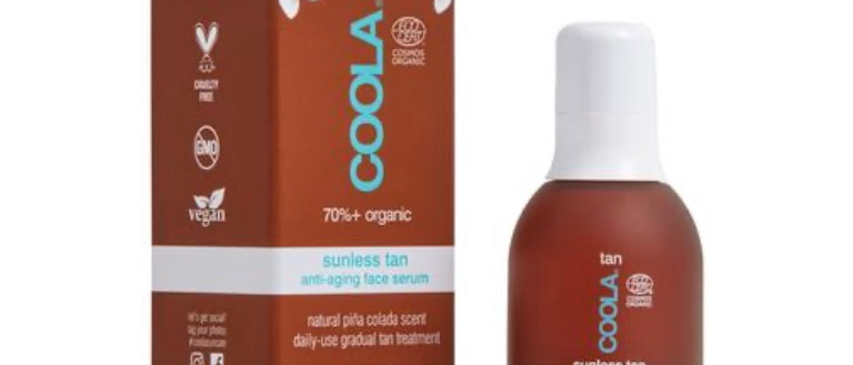 Coola Organic Sunless Tan Anti Aging Face Serum
