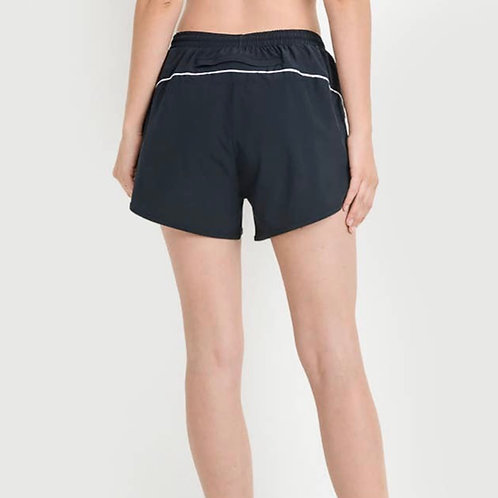 Favorite Active Shorts with Stripe Detail and Pocket