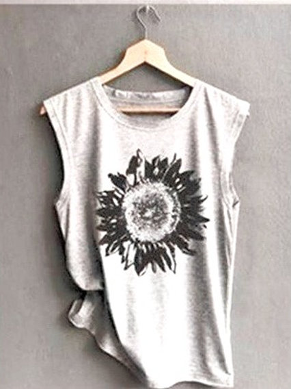 Sunflower Tank Grey