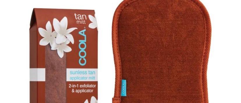 Coola Sunless Tan 2 in 1 Applicator/Exfoliator Mitt