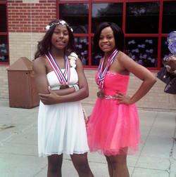 Onesti & Iauna Varsity Track Ladies