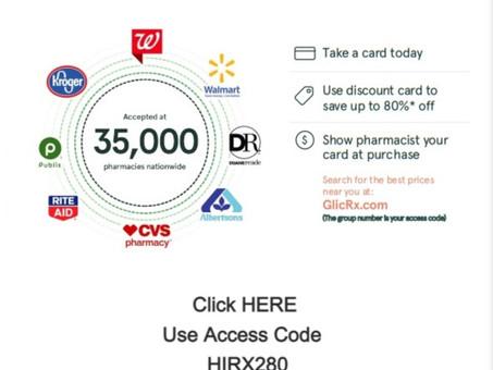 Dunamis Offers GlicRx For Special Prescription Drug Savings