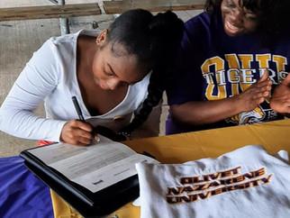 PICTFC Member Aaliyah Burnett Signs With Olivet Nazarene University Women's Track & Field