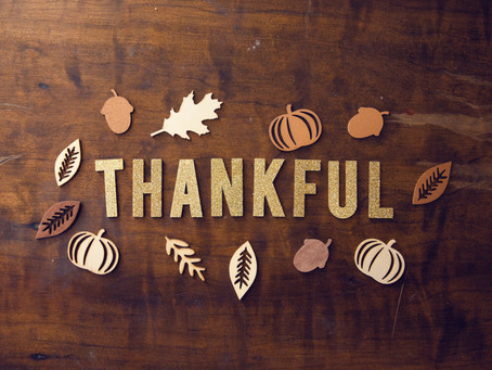 Thanksgiving Everyday: Being Thankful Everyday