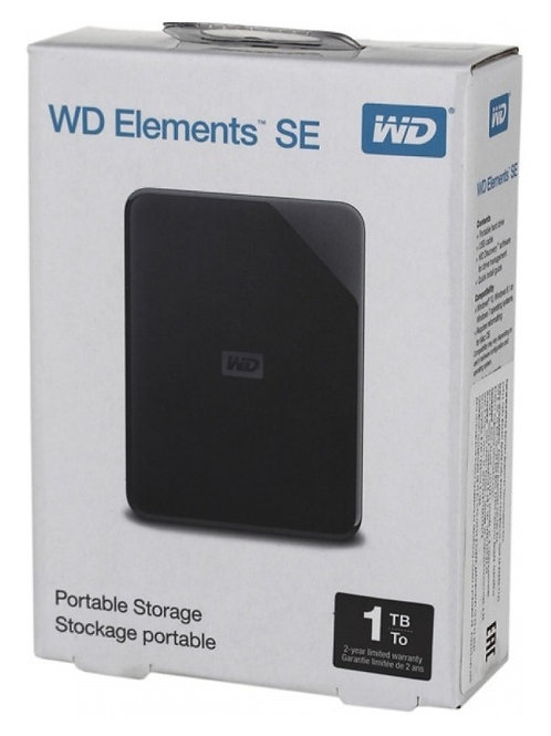 HD EXTERNO WESTERN DIGITAL 1TB