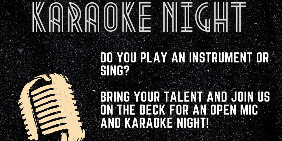 Open Mic and Karaoke Night