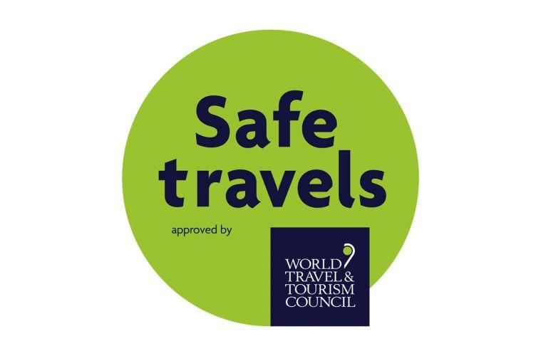 Sello Safe Travels / Safe Travels Stamp