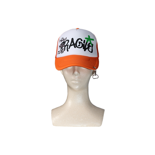 FRAGILE TRUCKER CAP [ORGANGE]