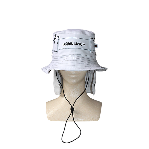 TACTICAL BUCKET HAT [WHITE]