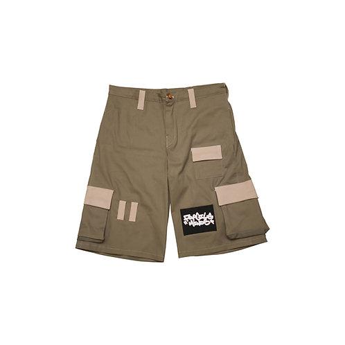 Tactical Cargo Shorts [Khaki]