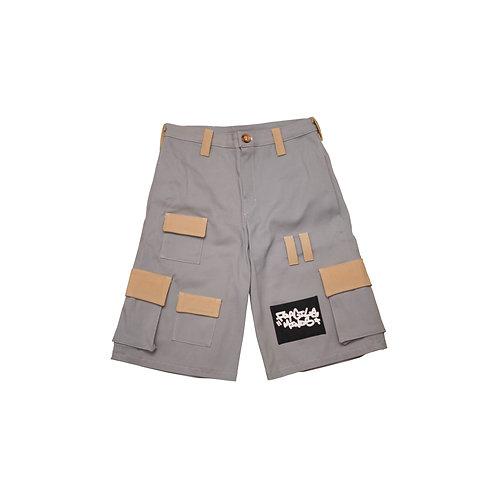 Tactical Cargo Shorts [Silver]
