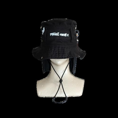 TACTICAL BUCKET HAT [BLACK]
