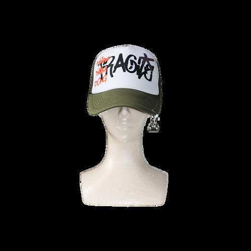 FRAGILE TRUCKER CAP [KHAKI]