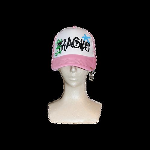 FRAGILE TRUCKER CAP [PINK]
