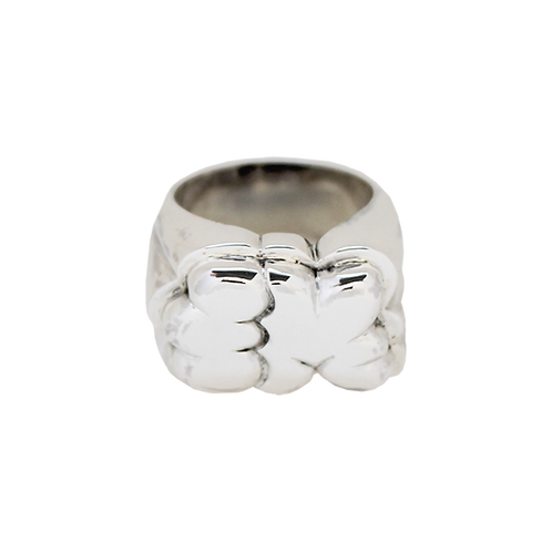 """FM x BY VELVET"" [STERLING SILVER] RING"