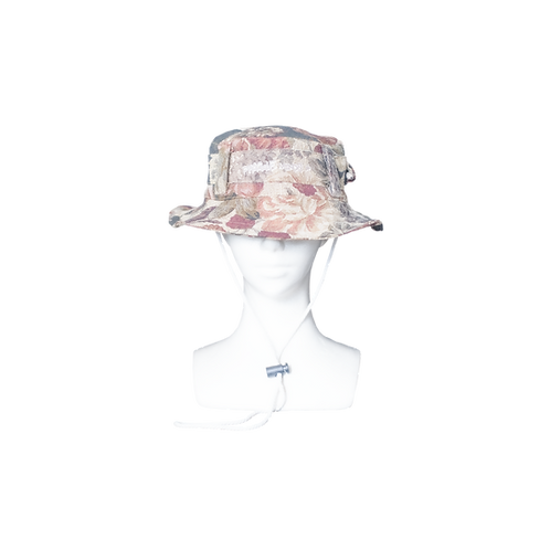 """""""FLORAL EARTHY"""" TACTICAL BUCKET HAT"""
